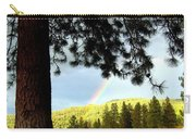 Rainbow In Pine Country Carry-all Pouch