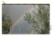 Rainbow In The Trees Carry-all Pouch