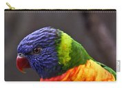 Rainbow Lorikeet Carry-all Pouch