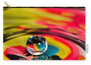 Rainbow Marble Water Drop Carry-all Pouch