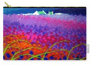 Rainbow Meadow Carry-all Pouch by John  Nolan