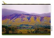 Rainbow Mountain Carry-all Pouch by DigiArt Diaries by Vicky B Fuller