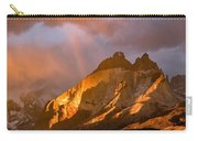 Rainbow Mountain In The Storm Carry-all Pouch