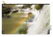Rainbow On The Falls Carry-all Pouch