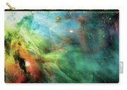 Rainbow Orion Nebula Carry-all Pouch by Jennifer Rondinelli Reilly - Fine Art Photography