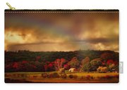 Rainbow Over Countryside Carry-all Pouch