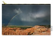 Rainbow Over Hoodoos Bryce Canyon National Park Utah Carry-all Pouch