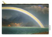 Rainbow Over Jenny Lake Wyoming Carry-all Pouch