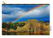 Rainbow Over Mill Pond Carry-all Pouch