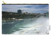 Rainbow Over Niagra Falls Carry-all Pouch
