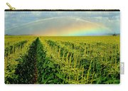 Rainbow Over The Cornfields Carry-all Pouch