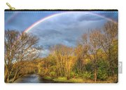 Rainbow Over The River Carry-all Pouch