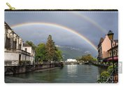 Rainbow Over Thiou River In Annecy Carry-all Pouch
