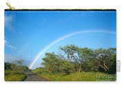 Rainbow Over Treetops Carry-all Pouch