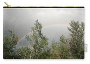 Rainbow Past The Treeline Carry-all Pouch