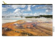 Rainbow Pool In Yellowstone National Park Carry-all Pouch
