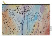 Rainbow Poppies Carry-all Pouch