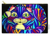 Rainbow Striped Cat 2 Carry-all Pouch