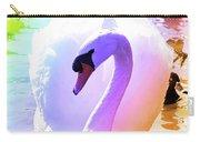 Rainbow Swan Carry-all Pouch