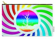 Rainbow Swirl Tree Carry-all Pouch