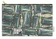 Rainbow Trout Thingies Carry-all Pouch by Ron Bissett
