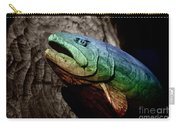 Rainbow Trout Wood Sculpture Carry-all Pouch