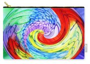 Rainbow Twirl Carry-all Pouch