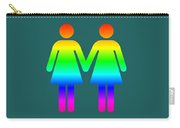 Rainbow Women Carry-all Pouch