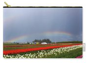 Rainbows At Tulip Festival Carry-all Pouch