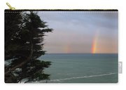 Rainbows Over The Ocean At The Mendocino Coast Carry-all Pouch