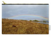 Raindow Over Gold Carry-all Pouch