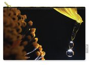 Raindrops From Sunflower Petal Carry-all Pouch