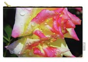 Raindrops On A Rose Carry-all Pouch