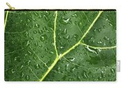 Raindrops On Fiddle Leaf Carry-all Pouch