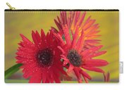 Raindrops On Gerbera Carry-all Pouch