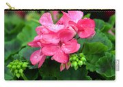 Raindrops On Pink Geranium Carry-all Pouch