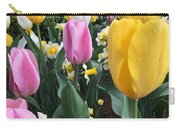 Raindrops On Tulips Carry-all Pouch
