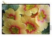 Raindrops On Yellow Flowers Carry-all Pouch