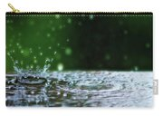 Raindrops Rejuvinate Carry-all Pouch
