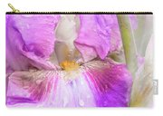 Raindrops On Persian Berry Iris Carry-all Pouch