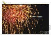 Raining Golden New Year Wishes Carry-all Pouch