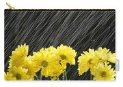 Raining On Yellow Daisies Carry-all Pouch