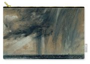 Rainstorm Over The Sea Carry-all Pouch by John Constable