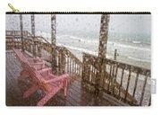 Rainy Beach Evening Carry-all Pouch