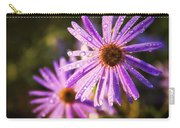 Rainy Day Flowers Carry-all Pouch