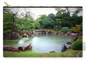 Rainy Day In Kyoto Palace Garden Carry-all Pouch