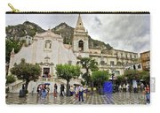 Rainy Day In Taormina 2 Carry-all Pouch