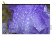 Rainy Day Iris Carry-all Pouch
