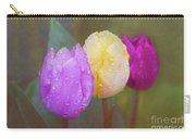 Rainy Day Tulips Carry-all Pouch