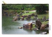 Rainy Japanese Garden Pond Carry-all Pouch